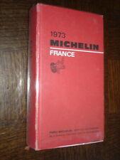 GUIDE MICHELIN FRANCE 1973