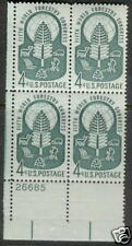 U.S.  #1156  4c  WORLD FORESTRY  Plate Block, MNH
