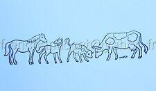 TETE DE CHEVAL doodle Tampon C 337