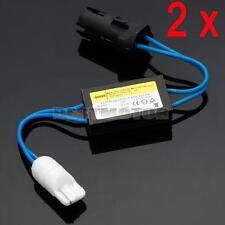 2 Pcs 12V LED Warning Canceller Decoder 501 T10 W5W OCB Error Load Resistor