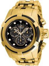 New Mens Invicta 23912 Bolt 53mm Swiss Quartz Gold SS Watch