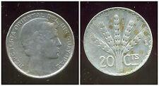 URUGUAY  20  centesimos  1942   ARGENT  SILVER  ( bis )