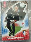 PANINI FOOT CARDS 98 BARTHEZ FABIEN N°191 / COLLECTION FRANCE 98 RARE