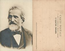 COMPOSER GIUSEPPE VERDI ANTIQUE RPPC REAL PHOTO POSTCARD