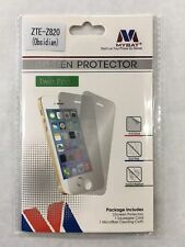 Twin Pack Screen Protector  Clear for ZTE Z820 Obsidian