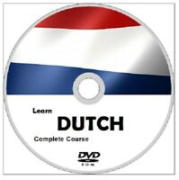 Learn to speak DUTCH COMPLETE LANGUAGE COURSE CD MP3 AUDIO & PDF TEXTBOOKS
