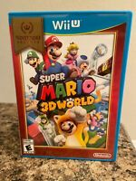 Super Mario 3D World (Wii U, 2013) Nintendo Wii U