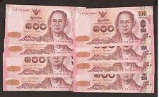 2015 Thailand 100 Baht  Uncirculated # P127a ( 3 )