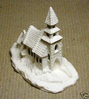 Ceramic Bisque Village Chapel Duncan Mold 443C U-Paint Ready To Paint