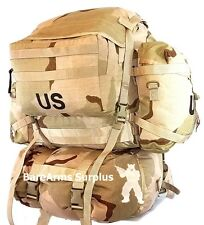 MOLLE II Desert Rucksack DCU camo  with 2 Sustainment pouches and cover US Army1