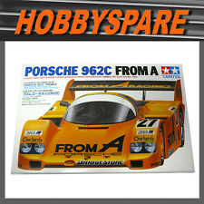 TAMIYA 1/24 PORSCHE 962C FROM A RACING MODEL KIT 24089 WSPC LE MANS