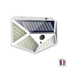 Lampe Solaire Murale Extérieur Détecteur Mouvement Eclairage 100 LED Jardin Mur