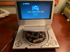 Audiovox D1705 Portable DVD CD MP3 Player 7 Inch Screen Works Great Sounds Great