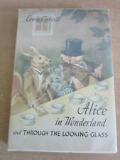 Lewis Carrol Alice in Wonderland / Through the looking glass - Jan Forlag 1949