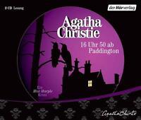 Agatha Christie • 16 Uhr 50 ab Paddington • 3 Audio CDs • Hörbuch • NEU • OVP