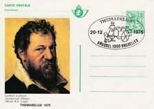 België briefkaart Cartes postale gestempeld 1975 BK3 - Zelfportret (2)