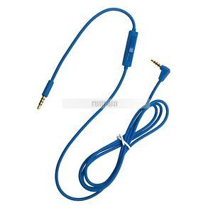 Logitech UE4000 UE6000 UE9000 3.5mm Audio Cable Mic Volume Control Cable