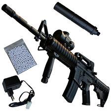 Schmeisser AR-15 Tactical Softair Gewehr elektrisch inkl. Akku 6 mm <0,5 Joule
