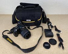 Nikon D60 Digital SLR Camera - Black (Kit w/ 18-55mm Lens)