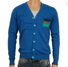 Humör Philly Herren Strickjacke (M) Knit Cardigan blau Langarm Strick Jacke blue