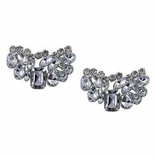"""Jewelled Shoe Clips, Shoe Jewels, Bridal Prom Shoe Accessories (1 Pair) """"Olivia"""""""