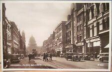 Irish RPPC Postcard DONEGALL PLACE BELFAST Northern Ireland ca 1940 Photo Valntn