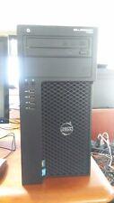 Dell Precision T1650 Workstation Intel Xeon 3.1Ghz Win7 Pro 8G RAM 250G HDD-DVI