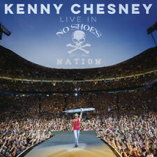Live In No Shoes Nation - 2 DISC SET - Kenny Chesney (2017, CD NEUF)
