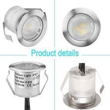 Minispot RGB 30mm 12V Boden Einbaustrahler LED Einbau Leuchte Außenlampe IP67