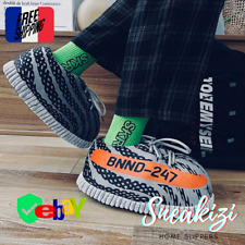 Chaussons Sneakers Style Yeezy 350 V2 BOOST Beluga Pantoufle SNEAKIZI Home