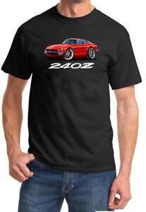 Datsun 240Z Sports Car Full Color Tshirt NEW FREE SHIPPING