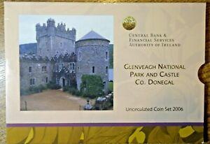 IRELAND: OFFICIAL MINT SET 2006. GLENVEAGH NATIONAL PARK AND CASTLE