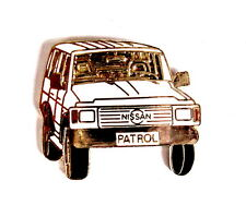 Voiture pin/broches-Nissan patrol BLANC [1226]