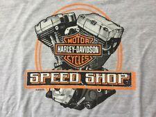 Harley Davidson Speed Shop gray Shirt Nwt Men's 5XL