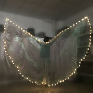 LED Isis Wings Belly Dance Cosplay Show Light Up Festival Wings Costume