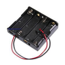 Batteriehalter für 4x AA Batterien Gehäuse mit Kabel Batteriefach Mignon Akku