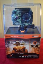 New in Box WASPcam Rox 4K Action Camera Model 9942