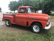1958 Chevrolet Apache 3 Window Truck 4l60e Trans 53l Engine Potential Build