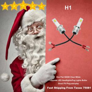 4xH1 LED Fog Driving Light Bulbs Kit Super Bright Premium Lamp 35W 6000K White