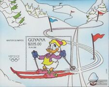 guyana Bloc 152 (complète edition) neuf avec gomme originale 1991 walt disney pe