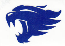 REFLECTIVE University of Kentucky UK Wildcats fire helmet decal sticker yeti NEW