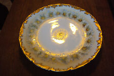 T and V Limoges Platter w/ Hand Painted Daisy's and Gold Hand Painted VINTAGE