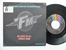 "bo Film OST "" FM ""  STEELY DAN No static at all 110089 Pressage France"