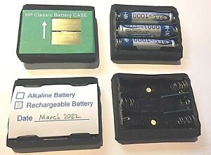 Rechargeable HP Calculator Battery Classic CASE   HP 35, 45, 55, 65, 67, 80