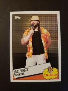 BRAY WYATT 2015 Topps Heritage WWE Called Up #16 NXT