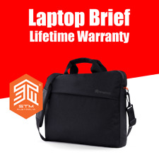"STM 14"" 15"" 15.6"" Laptop Gamechange Briefcase Water Resistant Office Bag Case AU"