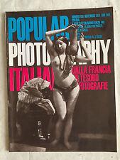 RIVISTA PHOTOGRAPHY ITALIANA N.166 11/1971 DALLA FRANCIA UN TESORO DI FOTOGRAFIE