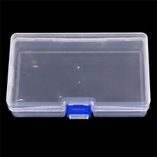 Plastic Clear Parts Storage Box Jewelry Craft Container Organizer Case New~