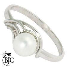 Gioielli di lusso perla oro bianchi 9 carati