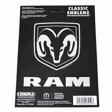 ORIGINALE Dodge Ram Pick up Classic emblema CROMO SCRITTA LOGO ADESIVO DECAL